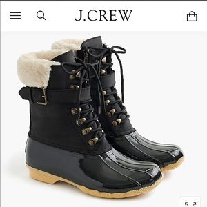 Sperry for JCrew Shearwater Buckle Boots - 6M